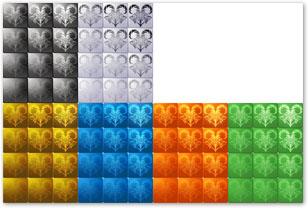 13星座・新素材-VX用ファイルの一例