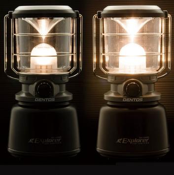 とにかく明るい1000lmGENTOS(ジェントス) LEDランタン EX-1000C