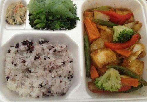 いかと彩り野菜のカレー炒め