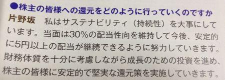 ANAHD 安定的な5円配当へ!?