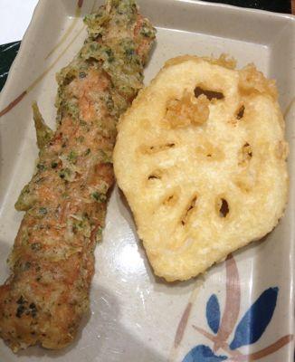 今日の天ぷら