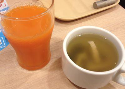 ドリンクバー スープ