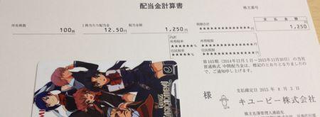 2809 キユーピー 配当金