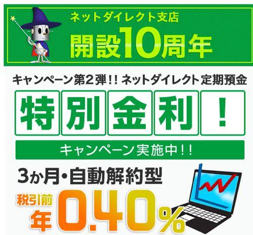 8365 京都銀行 定期預金