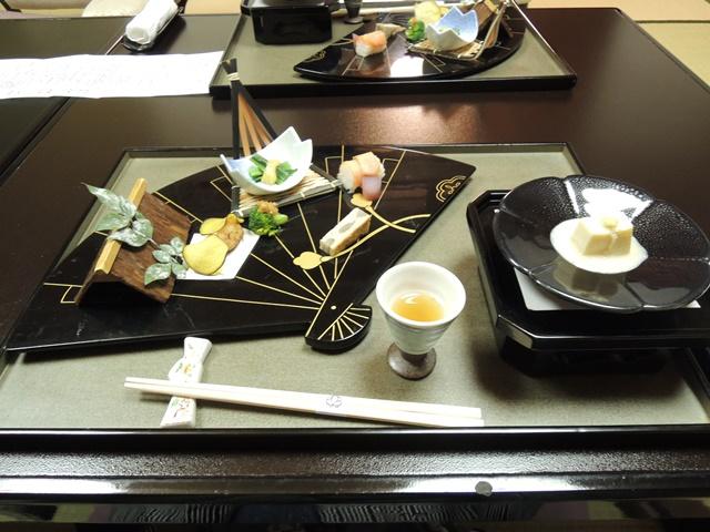 山翠楼夕食2