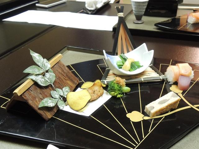 山翠楼夕食4