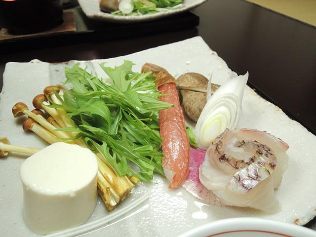山翠楼夕食13