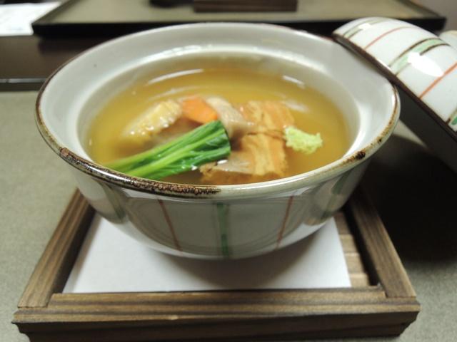 山翠楼夕食15