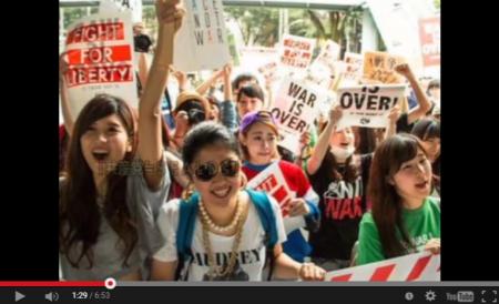 【拡散】国会前スピーチのSEALDs≒共産党≒朝日新聞≒在日≒報ステが証明される!在日特権拡大の為に外国人参政権を日本のマスゴミが支援? [嫌韓ちゃんねる ~日本の未来のために~ 記事No4170