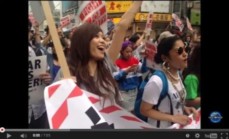 【動画】共産党「SEALDs」に潜入した新聞記者が『悪夢の現実に直面して』必死に逃亡。参加者たちの異常な態度に怯えを隠せない [嫌韓ちゃんねる ~日本の未来のために~ 記事No4372