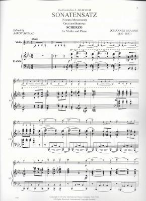 Brahms Scherzo2Blog