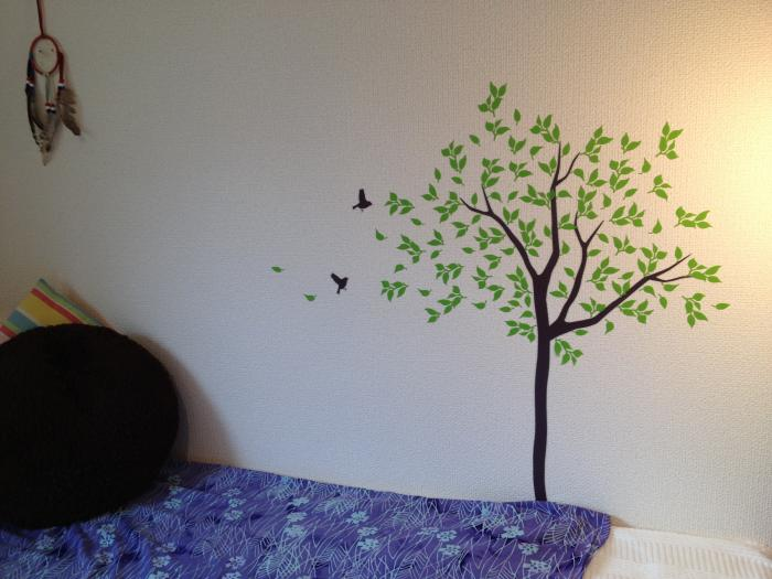 部屋に木を生やす