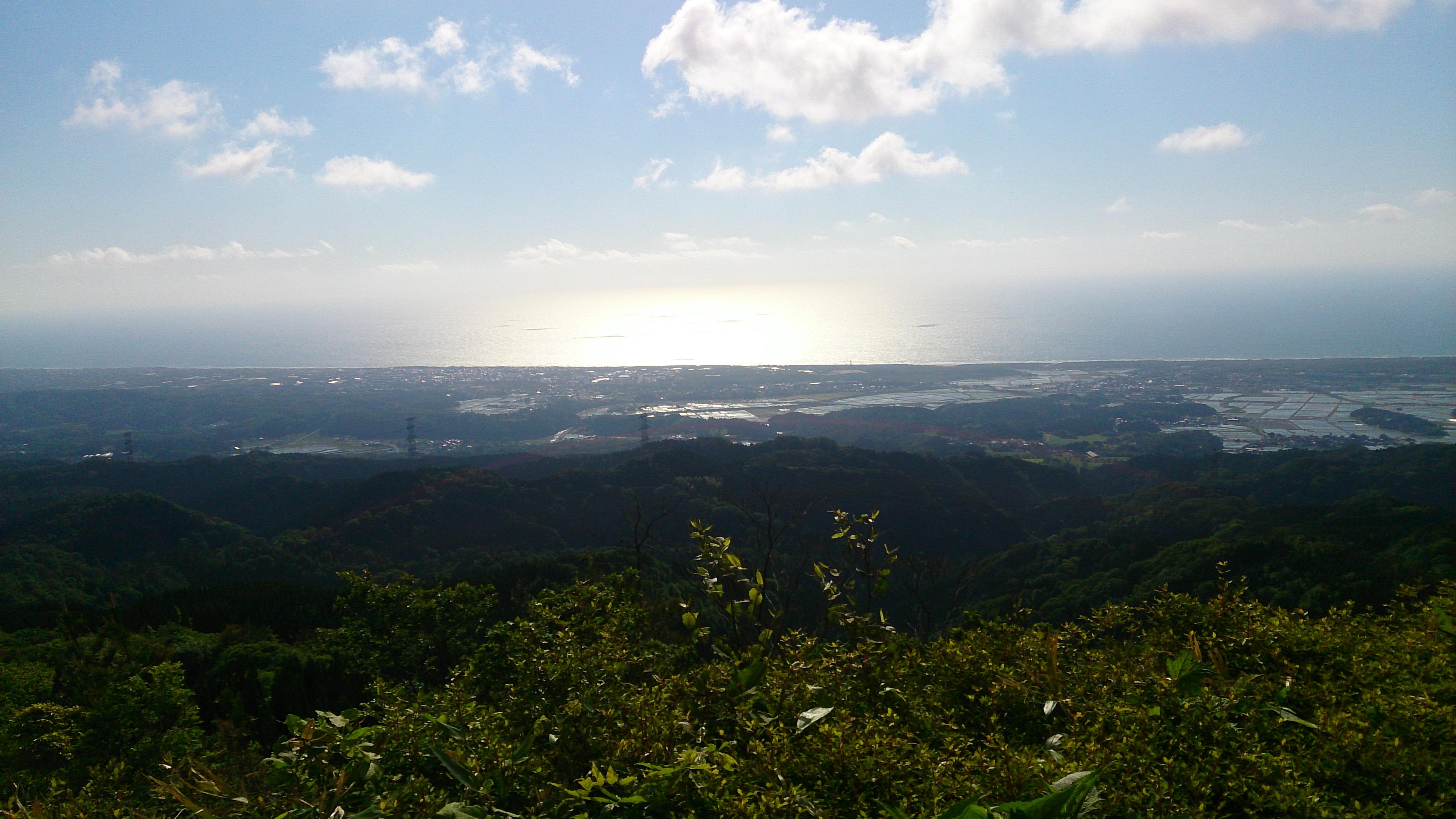 宝達山から