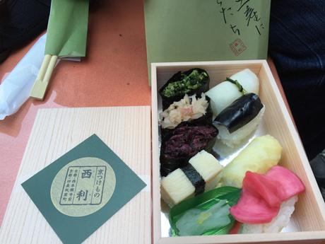 お漬物のお寿司♪