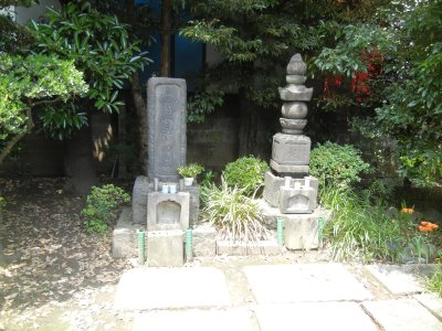 葛西清重の墓