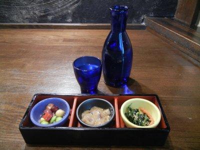 まずは、日本酒1合