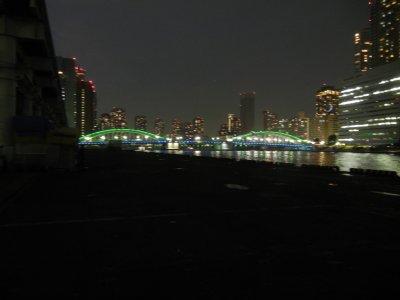 【参考】 上流側の勝鬨橋
