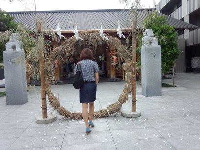 赤城神社 夏越・茅の輪