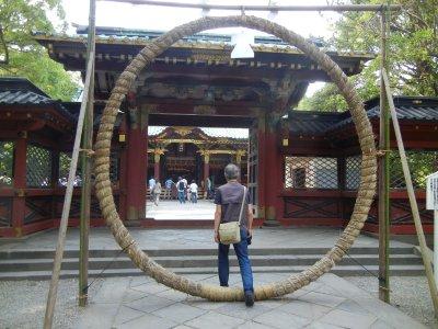 根津神社・茅の輪