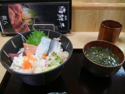 海鮮八種丼@880