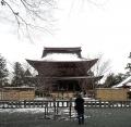 20150102_雪の金峯山寺