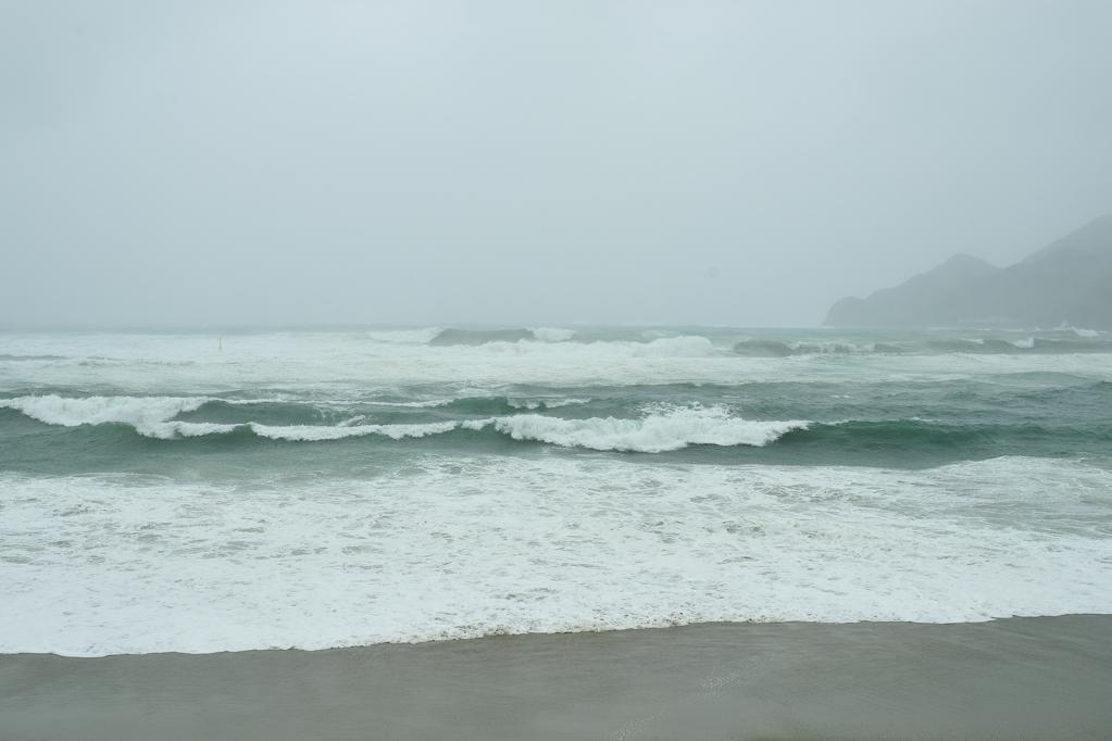 台風12号・手打湾