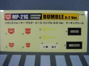 トランスフォーマー マスターピース MP-21G バンブルG2Ver042