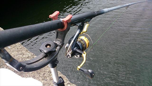 12:56 釣り開始 ♪