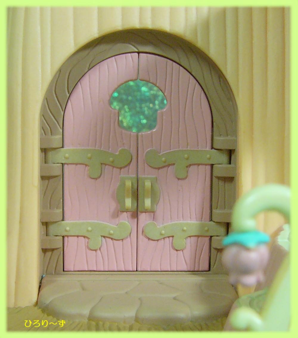 ふしぎの森のキノコ ドア