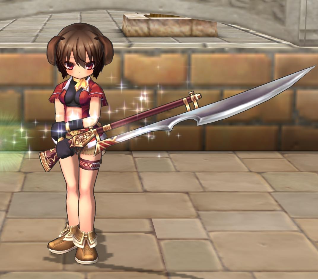 06_ウェスタン上下+銃剣(槍)