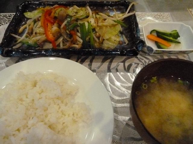 150613ポン太夕食①