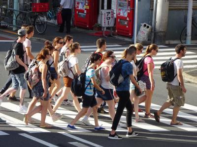 山谷 外国人旅行者 2015