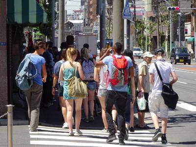 山谷 外国人観光客 2015夏