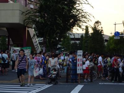 隅田川花火大会 南千住~山谷
