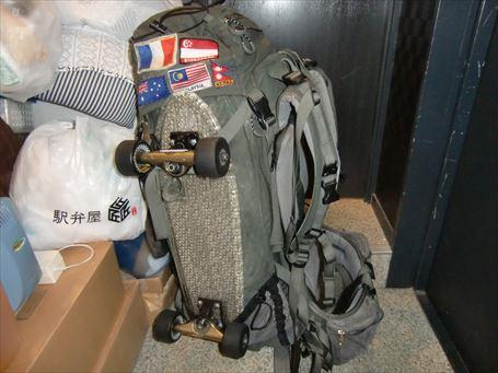 外国人旅行者の荷物 ①