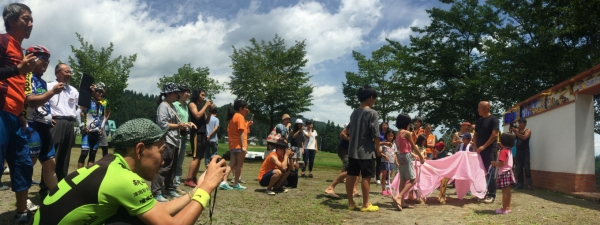 20150725津南祭大地の芸術祭プレサイクリング10