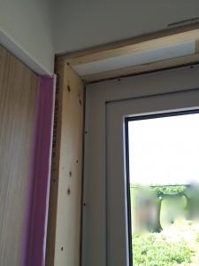 窓枠交換工事2