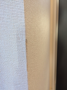 壁紙の角の傷