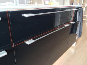 i-smartキッチンの包丁収納