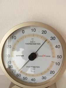 23日2階の湿度