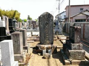 田中保 画伯の墓
