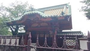 徳川家綱霊廟勅額門
