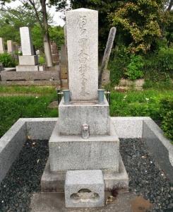 国木田独歩の墓