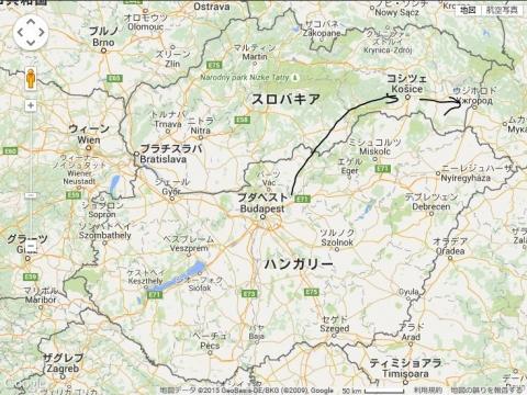 ブダペストmap1