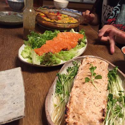 父の日の晩ご飯