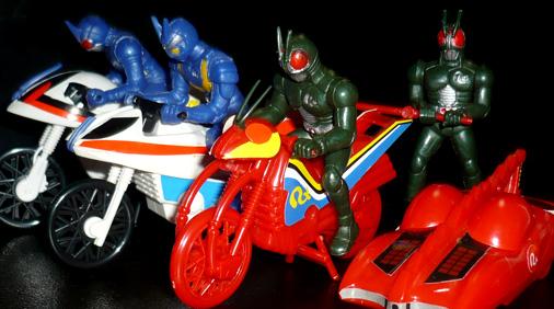 仮面ライダーBLACK RX マシンライダーRX