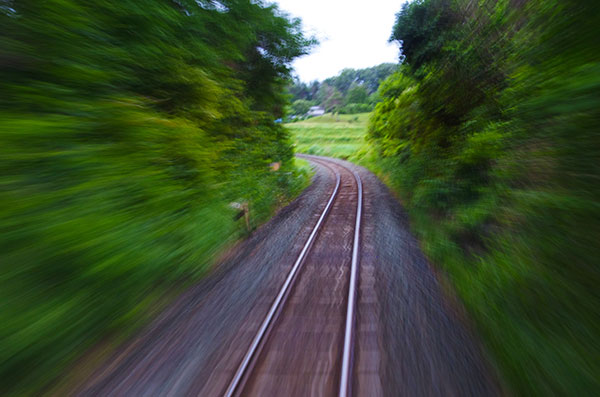 JR釜石線の流景