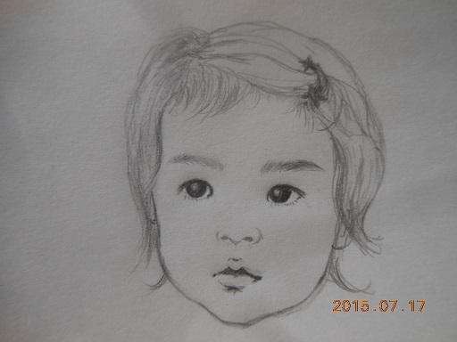 yui似顔絵
