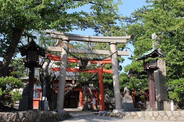 20150714新潟旅行:湊稲荷神社 鳥居