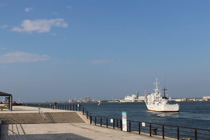 20150714新潟旅行: 新潟市歴史博物館みなとぴあ 信濃川